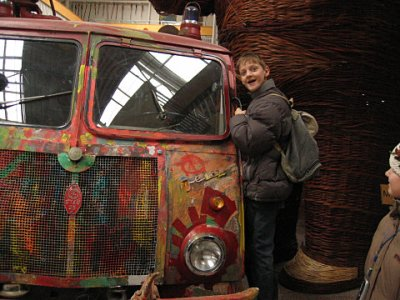 Wóz podarowany przez Wielką orkiestrą Świątecznej Pomocy