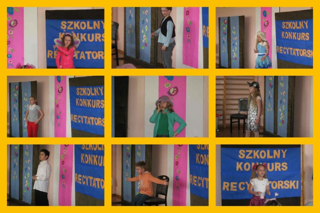 2014-04-08, szkolny konkurs recytatorski