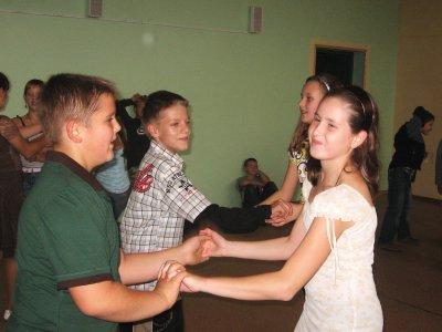 Klaudia, Nadia, Dominik i Bartek