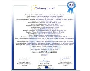Certyfikat eTwinning