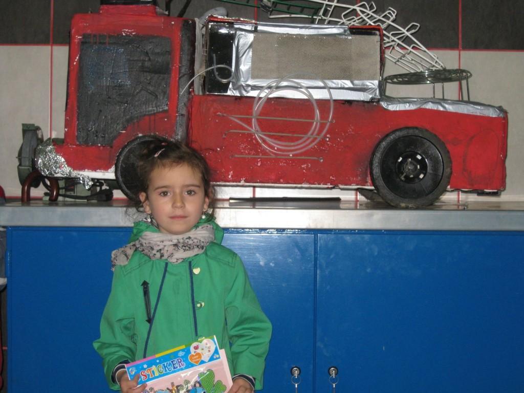 Amelka i jej wóz strażacki