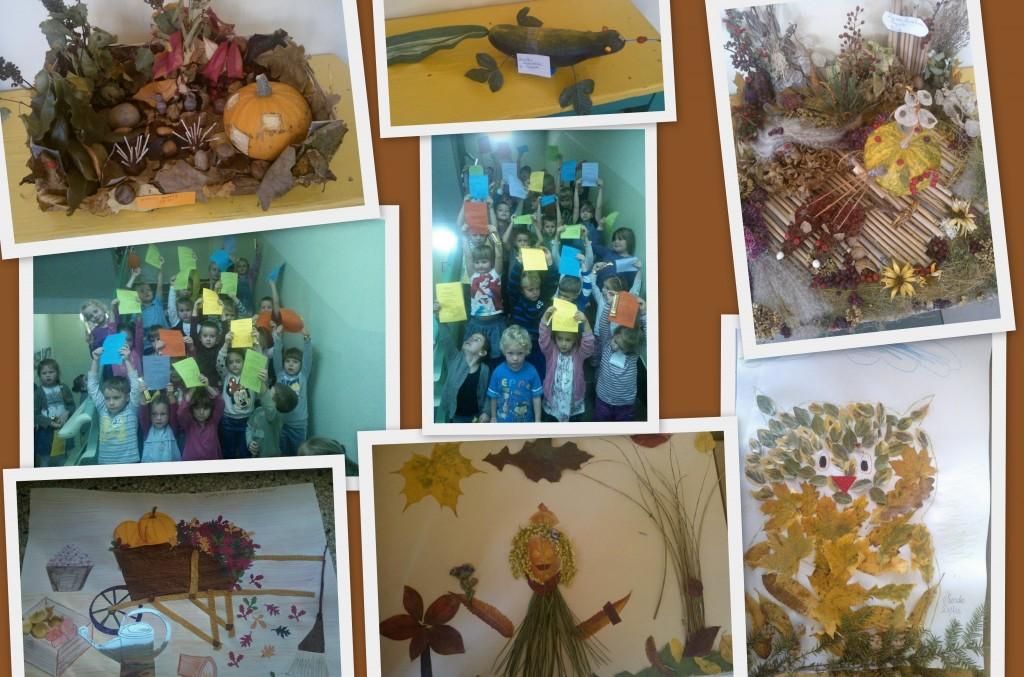 Jesienny kolaż konkurs