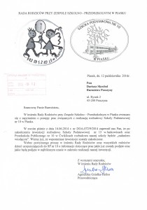 Pismo RR z 12.10.2016