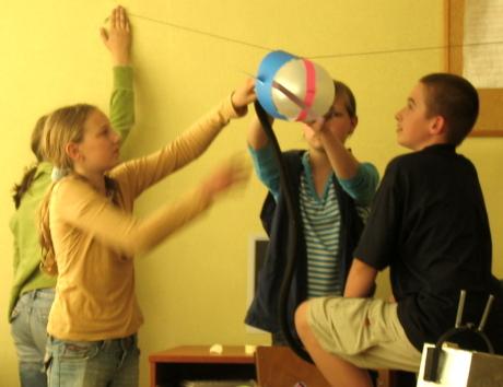 balonik rakieta
