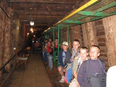 Kolejka w kopalni