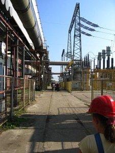 Na terenie elektrowni