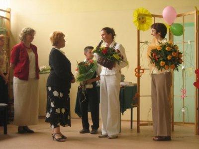 Pożegnanie Pani Elżbiety Szafron