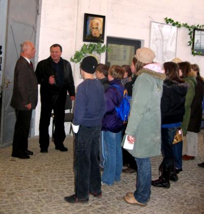 powitanie w muzeum