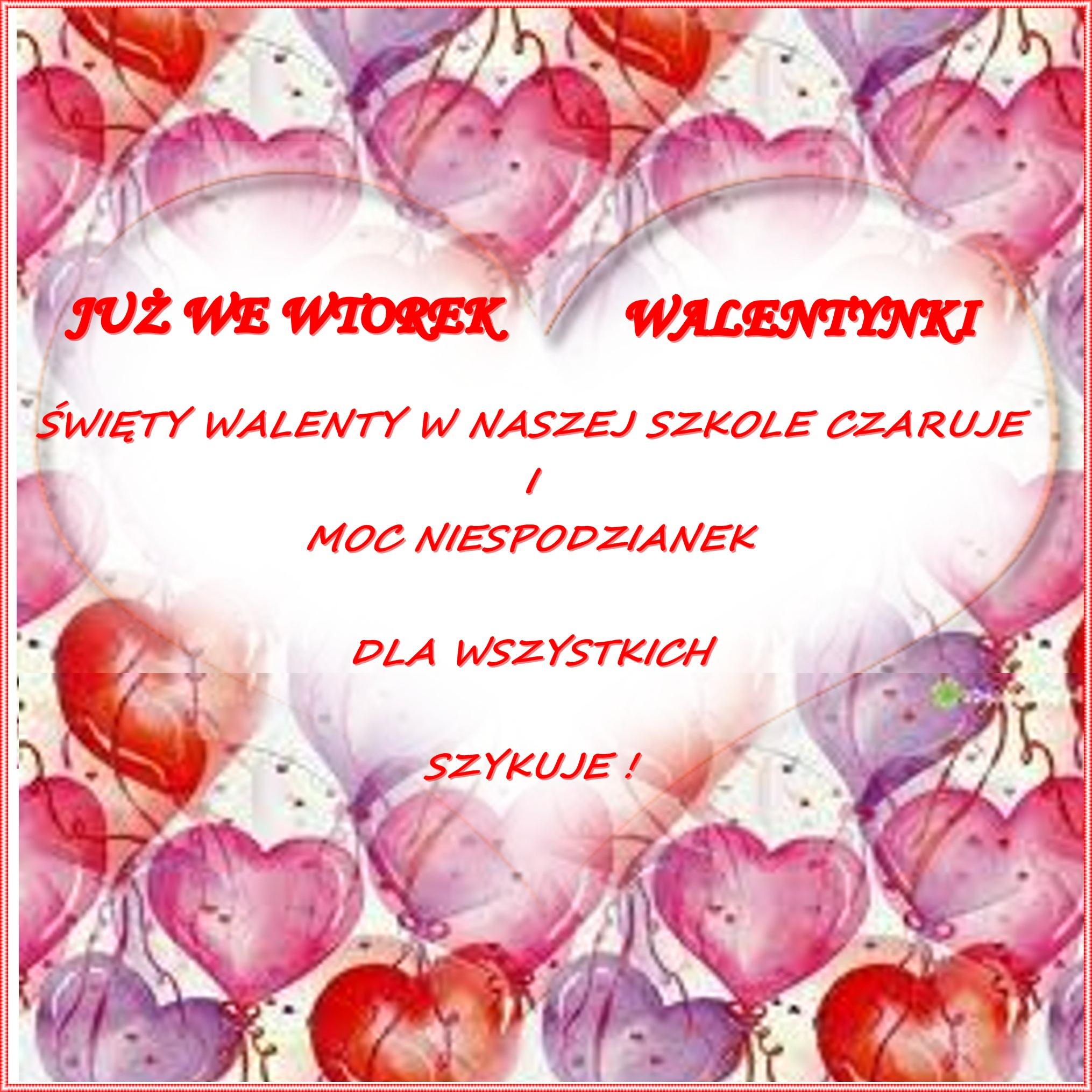 Walentynki Zespół Szkolno Przedszkolny W Piasku Strona 2